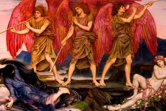Эвелин де Морган. «Триумф Авроры». 1886