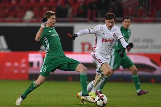 «Ахмат» и «Локомотив» встречаются в матче РФПЛ