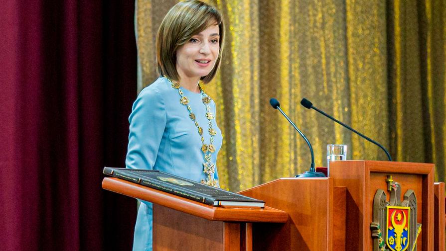 Санду обвинила молдавский парламент в попытке узурпации власти
