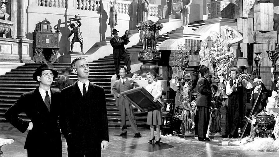 Кадр из фильма «Гражданин Кейн» (1941)