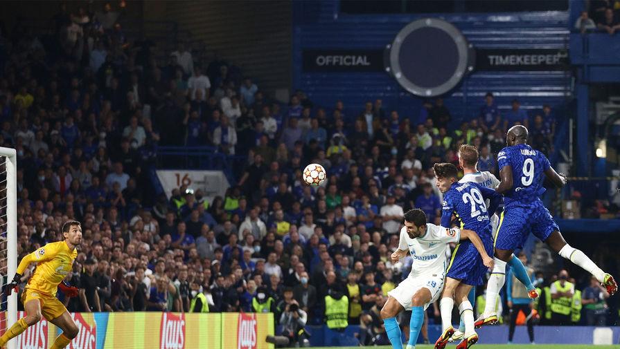 Зенит с минимальным счетом уступил Челси в Лиге чемпионов