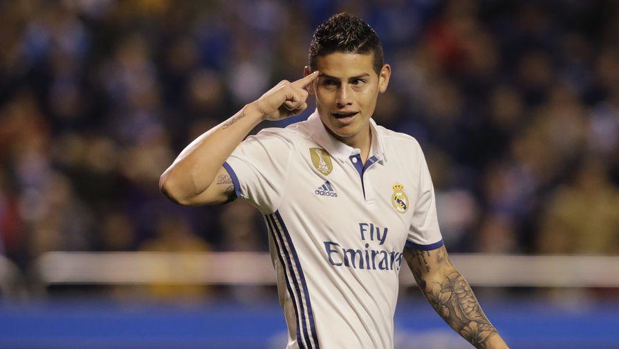 «Реал» вдвое снизил сумму за трансфер Хамеса