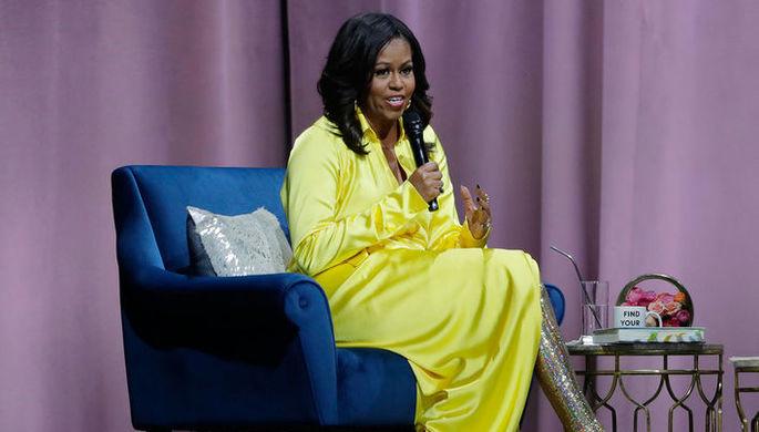 «С ног на голову»: как одевалась Мишель Обама в Белом доме