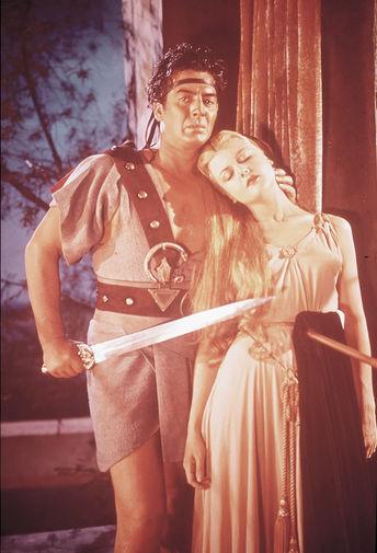 Кадр из фильма «Самсон и Далила», 1949 год