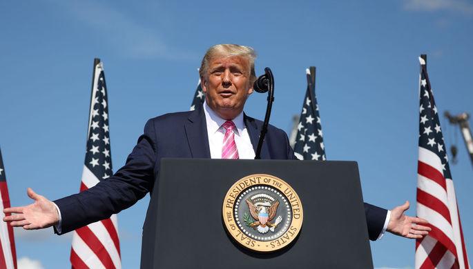 Кандидат в президенты США Джо Байден во время мероприятия кампании в Айове, 2019 год