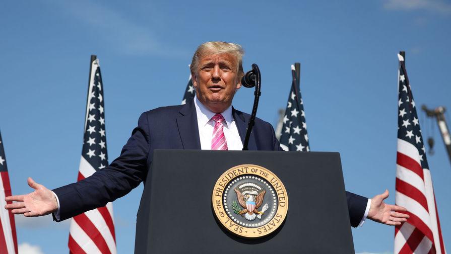 Трамп раскритиковал Байдена за недостаточную работу