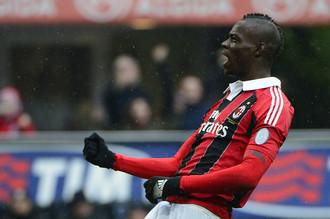 Марио Балотелли принес очередную победу «Милану» в серии А