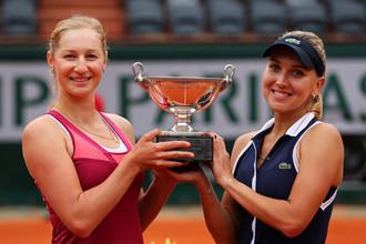 Екатерина Макарова и Елена Веснина выиграли «Ролан Гаррос» в парном разряде