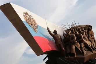 Памятник российским героям и воинам, павшим в годы Первой мировой войны, в Парке Победы на Поклонной горе