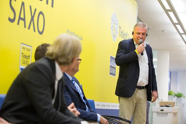 Генеральный директор Saxo Bank Ларс Сейер Кристенсен