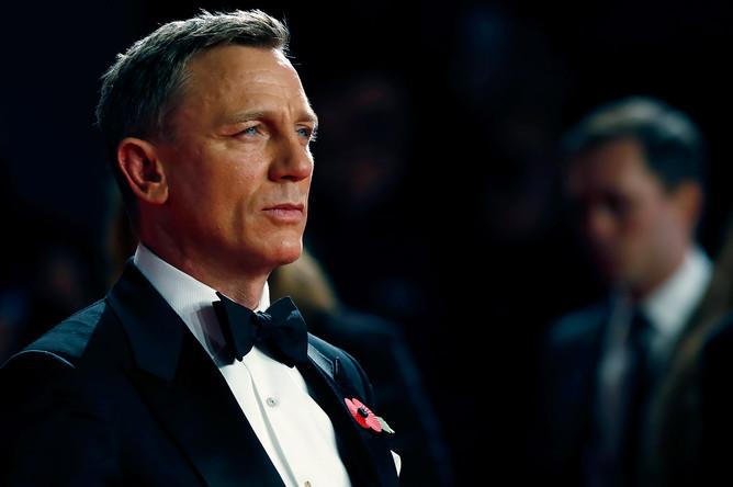 Дэниэл Крэйг на премьере фильма «007: Спектр» в Лондоне