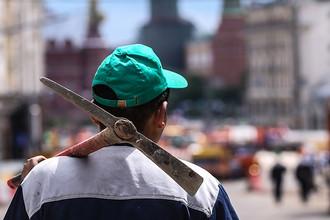 На Тверской откопали следы преступников
