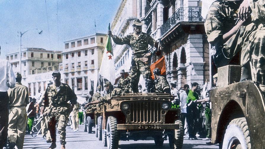 Военный парад в Алжире, 1962 год