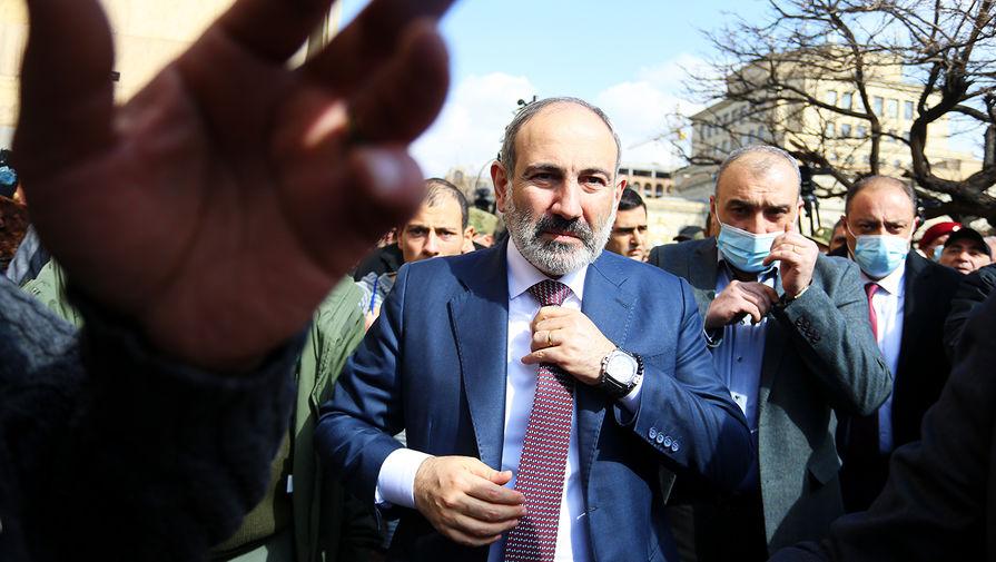 Правящая партия Армении выдвинет Пашиняна на пост премьера на выборах в парламент