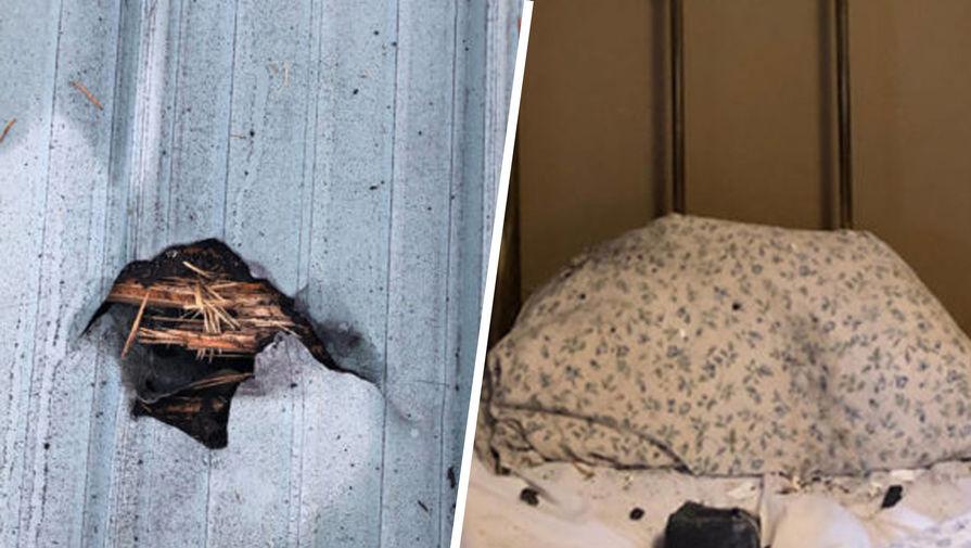 Метеорит едва не убил спавшую в своем доме канадку