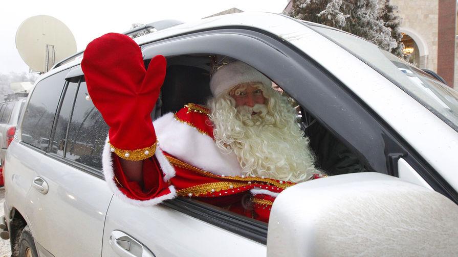 Дед Мороза отправят под суд за нетрезвое вождение в Кировской области