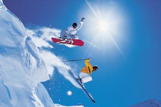 Какой вид спорта лучше подойдет новичкам - сноуборд или горные лыжи