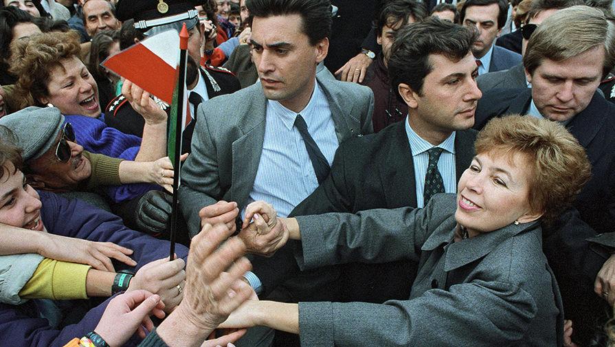 Раиса Горбачева в Италии, 1989 год