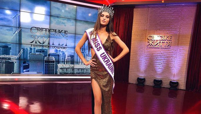 «Ходить не умеет, без ценностей»: что не так с новой «Мисс Украина»