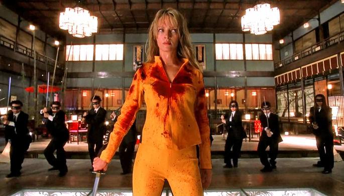 Кадр из фильма «Убить Билла» (2003)