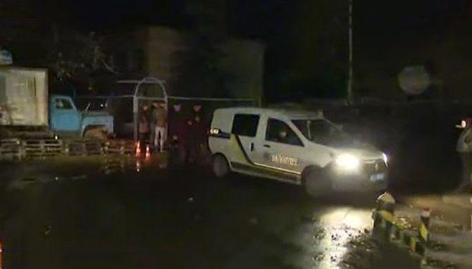 Скриншот видео с места убийства Амины Окуевой