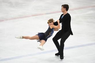 Российские фигуристы Дарья Павлюченко и Денис Ходыкин