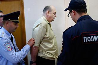Экс-глава Федеральной службы исполнения наказаний Александр Реймер в Замоскворецком суде, август 2016 года