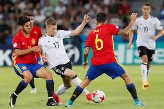 Германия и Испания сражаются в финале молодежного Евро