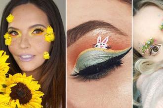С таким лицом на Пасху: 7 новых трендов в макияже