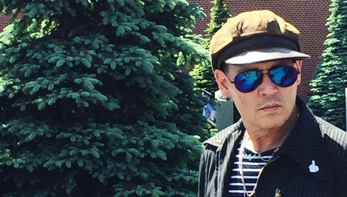 Джонни Депп в Москве, 27 мая 2018 года