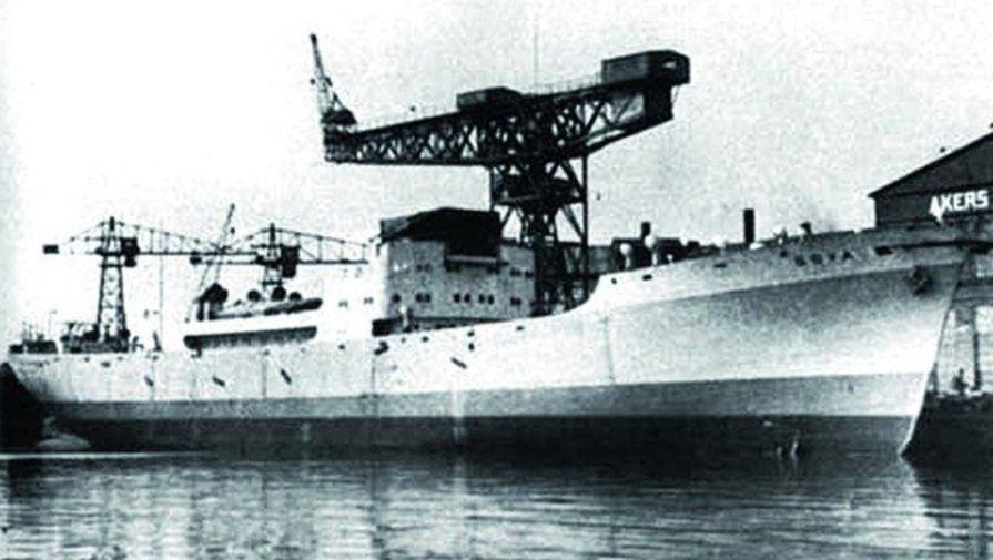 """75 лет назад советская подлодка Л-3 потопила немецкий корабль """"Гойя"""""""