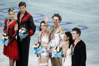Российские танцоры уступили французским ученикам российского тренера