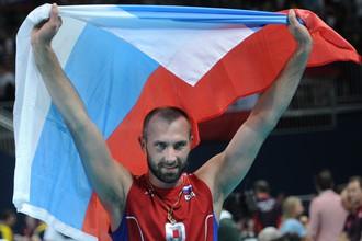 Сергей Тетюхин после победы на Олимпиаде в Лондоне