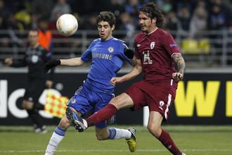 «Рубин» обыграл «Челси», но вылетел из Лиги Европы