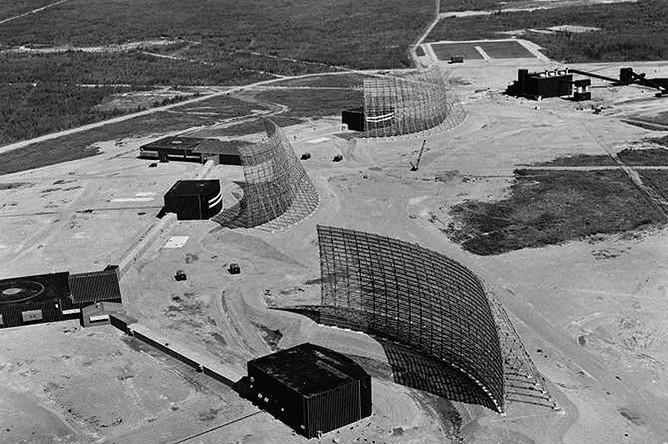 Радары противоракетной обороны, выведенные из строя солнечной вспышкой