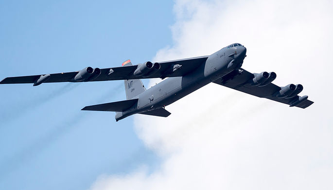 США отправили в Европу ядерные бомбардировщики