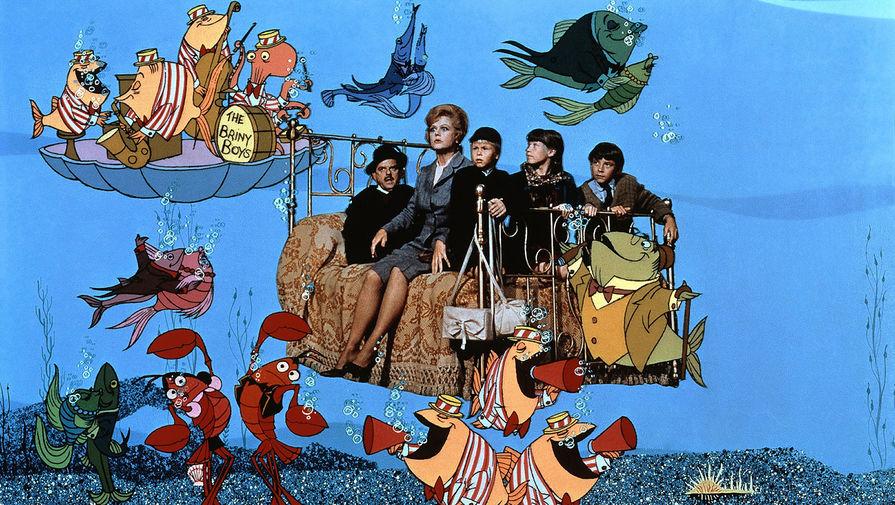 Кадр из фильма «Набалдашник и метла», 1971 год