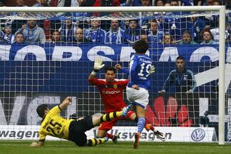«Шальке» и «Боруссия» Дортмунд не выявили победителя в Рурском дерби.