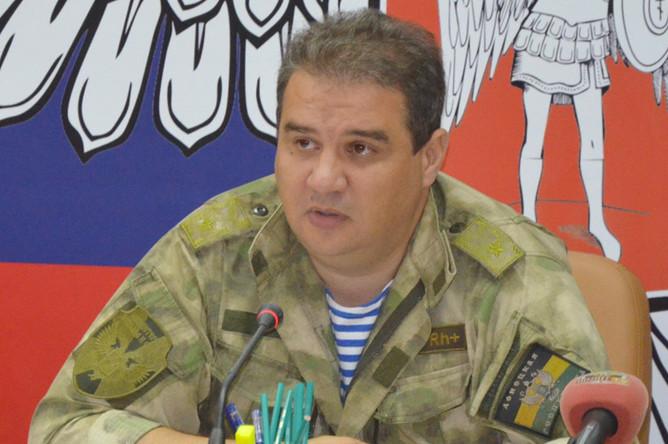 Министр доходов и сборов ДНР Александр Тимофеев