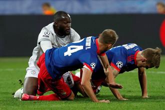 ЦСКА потерпел разгромное поражение в матче Лиги чемпионов против «МЮ»