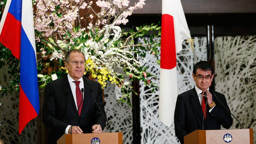 Лавров приехал в Токио готовить визит Абэ в Россию