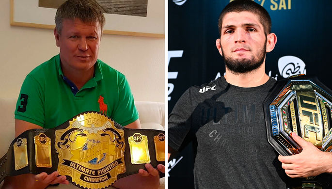 Хабиб или Тактаров: UFC назвал первого чемпиона из России