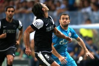 Победный путь в Лиге чемпионов «Малага» начала с разгрома «Зенита»