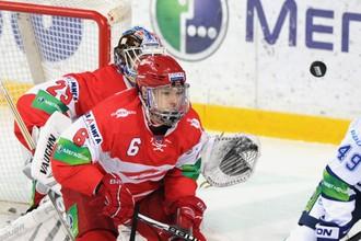 Валерий Васильев уже осваивается в КХЛ