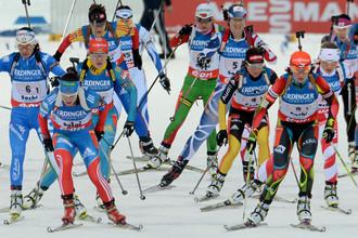 Норвежские биатлонисты преподнесли участницам этапа Кубка мира в Ханты-Мансийске сюрприз