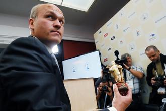 Новый президент Российской шахматной федерации Андрей Филатов