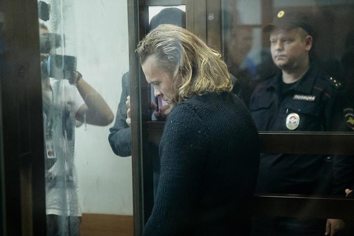 Издатель журнала «Флирт» Дмитрий Зяблицев в зале суда