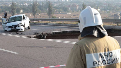 Поклонская потребовала возобновить расследование гибели людей при обвале дороги в Крыму