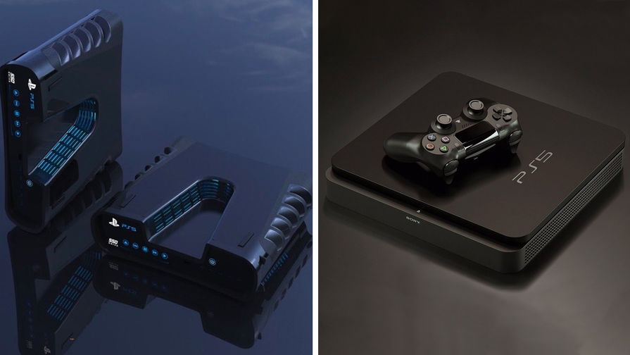 Варианты того, как может выглядеть PlayStation 5