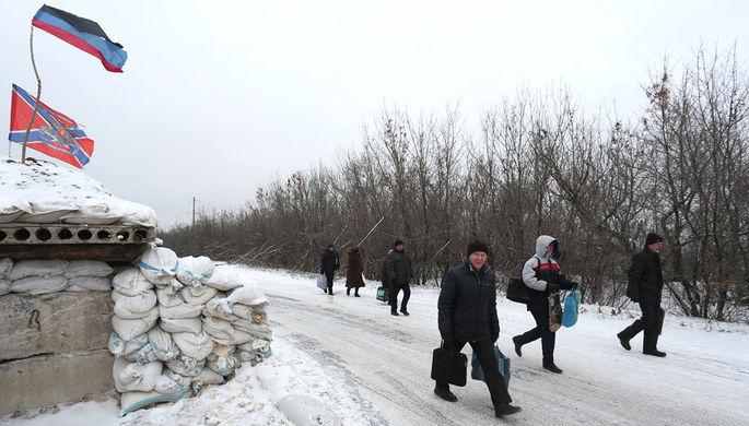 Украина объявила о планах восстановления контроля над границей с Россией